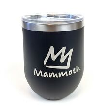 Corkcicle Mammoth Mountain 12oz Triple-Insulated Stemless Tumbler Cup Black New