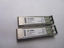 8x JDSU JSH-42S4DB3-HP 5697-5552 405287-001 HP STORAGEWORKS 4GBSW mini-GBIC