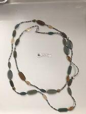 SILPADA N2225 Sterling Silver Labradorite Glass,Brass Necklace