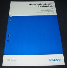 Werkstatthandbuch Volvo LKW Typ FL6 FL7 Getriebe R 1000 Arbeiten am Fahrzeug