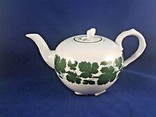"""Meissen  FULL GREEN VINE SMOOTH Teapot 4 3/4"""""""