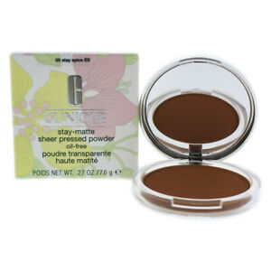Clinique Stay-Matte Sheer Pressed Powder - # 05 Stay Spice 7.965 ml Make Up