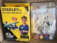 Stanley Jr. Pull Back Airplane DIY Kit from Black & DeckerJK029-SY Box Wear