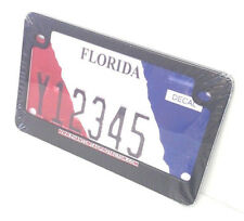 Motorcycle Black Metal License Plate Frame | Adds a Sporty & Stylish Finishing.