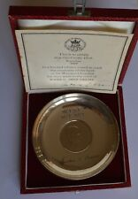 More details for sir winston churchill sterling silver crown coin dish robert & dore london 1975