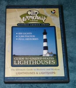 Guide to United States Lighthouses PC CD Armchair Tour Historic America Series