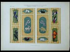 ANIMAUX, ART DECO -1924- LITHOGRAPHIE, PAUL LINDNER