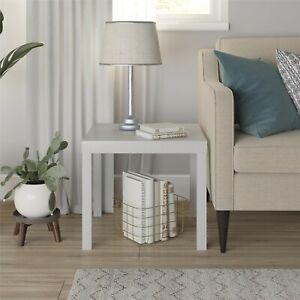 Mainstays Parsons End Table, Multiple Colors - Gray