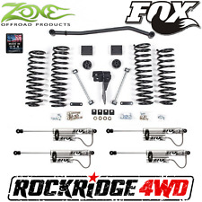"Zone 4"" Suspension Lift Jeep Wrangler JK 4 DOOR w/ Fox Remote Reservoir Shocks"