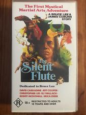 THE SILENT FLUTE DAVID CARRADINE CHRISTOPHER LEE ORIGINAL AS NEW PAL VHS VIDEO