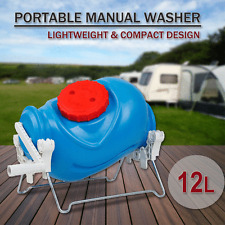 Portable Mobile Manual Hand Camping Washing Machine Camp Washer Laundry Rotary