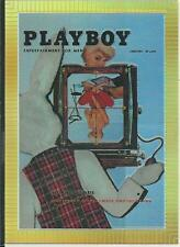 Playboy Chromium Cover Cards Edition 3 Illustrated Card refractor # R205