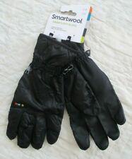SMARTWOOL Men's Smartloft GLOVES Black Size Large L  NWT