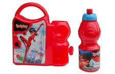 Miraculous Ladybug * Lunch Set * Pausen Set * Brotdose + Trinkflasche * Brotbox