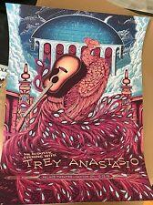 Trey Anastasio Canton Oh Oct 2019 Poster Screen Print S/N Ap #/40 In Stock Phish