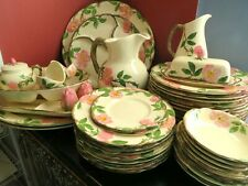 46pc.lot Franciscan china Desert Rose Usa Dinnerware, Serving Pieces & Decor
