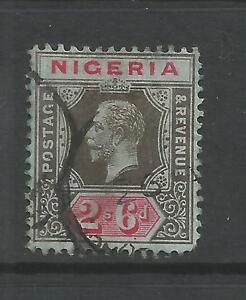 NIGERIA  1921-32   2/6   KGV   FU     SG 27