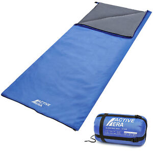 Active Era® Sleeping Bag for Warm Summer Weather, Water/Tear Resistant, Camping