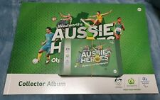 Woolworths Aussie Heroes Collector Album Sticker Olympics Paralympics Tokyo 2020
