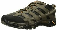 Merrell Men's Shoes Moab 2 Vent Leather Low Top Lace Up, Walnut, Size 8.0 6cKX