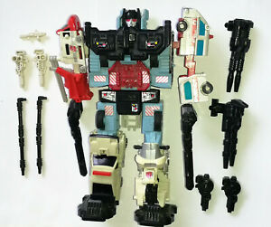 1986 Vintage Transformers G1 DEFENSOR Figure set all 5 Protectobots +Accessories