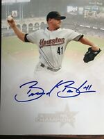Brandon Backe Signed Autographed 8x10 Photo  Houston Astros Gameday Hologram C
