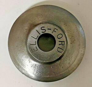 VINTAGE ELLIS & FORD PIPE CUTTER WHEEL [OD: 1-15/16, BORE: 7/16] (QTY: 1) NOS