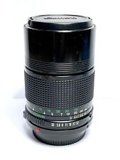 Télé-Objectif Fixe CANON FD (+ EOS) 135mm f/3,5 Prime Lens MF + UV Filtre