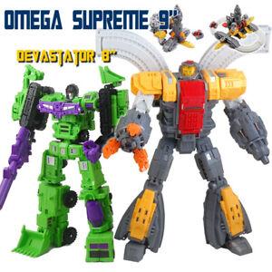 "MFT Robot MF34 Omega Supreme Action Figure 9"" Rocket Launch Defense Base Tank"