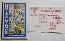 Rare books:'SCOTS and STAMPS' and 'POSTBOX CANCELS OF BRISBANE,SYDNEY and PERTH'