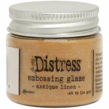 Tim Holtz - Distress Embossing Glaze - Antique Linen - Tan Brown