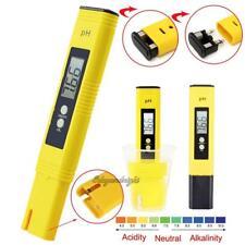 Portable Digital LCD Pen PH Meter Tester Aquarium Pool Water Wine Monitor 0.01PH