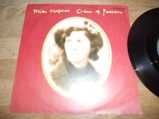 "MIKE OLDFIELD ""CRIME OF PASSION / JUNGLE GARDENIA"" VIRGIN RECORDS 1983 W.GERMANY"