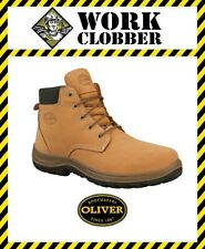 Oliver Nubuck Leather Safety Lace Up Boot 34632 NEW WITH TAGS!