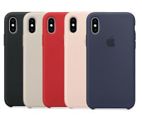 Original Apple iPhone XS Silicone Case Silikon hülle von Apple Original