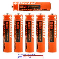 Kastar NiMH AAA 700mAh Battery for Panasonic 1.2V 550mAh HHR-4DPA/4B HHR-55AAABU