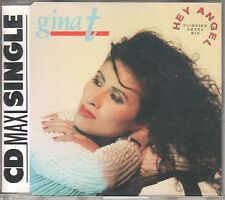 Gina t. CD-single Hey Angel (C) 1990