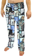 Star Wars Men's Original Trilogy Character Microfleece Plush Pajama Pants