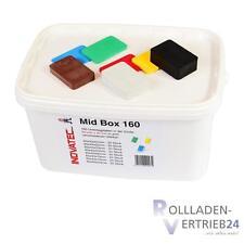160 Kunststoff Unterlegplatten 60x40x1-20 Box Abstandshalter Montageklötze