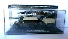 DIE CAST DODGE WC-63 (WEAPONS CARRIER) GREAT BRITAIN 1944 -  SCALA  1/72