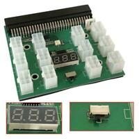 6Pin Breakout Board For HP PSU GPU Mining LED Display Ethereum Replacements V4D8