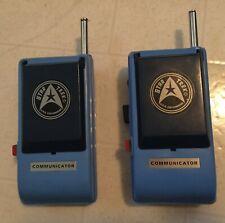 Vintage 1974 STAR TREK Mego U.S.S. Enterprise COMMUNICATOR set of 2