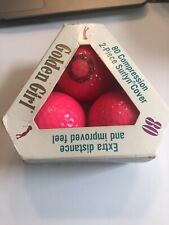 Vintage Golden Girl Hot Pink Golf Balls Nib