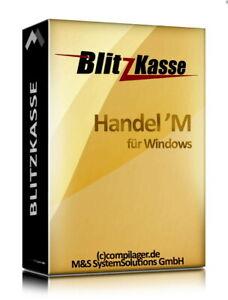 Kassen-Software Blitzkasse Handel für Einzelhandel Kiosk Imbis Laden TSE-konform
