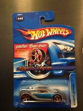 2006 Hot Wheels FTE Bugatti Veyron #144 Faster Than Ever diecast