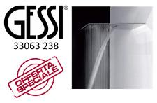 GESSI TREMILLIMETRI SOFFIONE DOCCIA CON CASCATA 33063 238 Mirror Steel