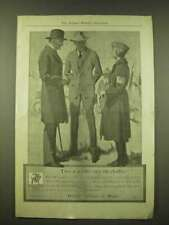 1918 Hart Schaffner & Marx Fashion Ad - Two ways to save on clothes