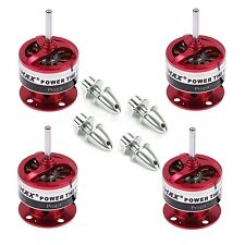 4x EMAX CF2822 1200KV Brushless Motor w/Prop Adapter for Airplane Quadcopter