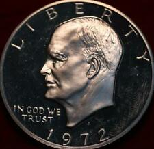 Uncirculated Proof 1972-S Silver Eisenhower Dollar