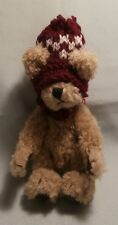 """BOYDS PLUSH COLLECTION  """"FITZGERALD O'BRUIN BEAR""""  91802 TJ   HEIGHT: 15cm"""